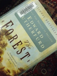 "Picture of the cover of a novel called ""The Forest"" by Edward Rutherfurd."