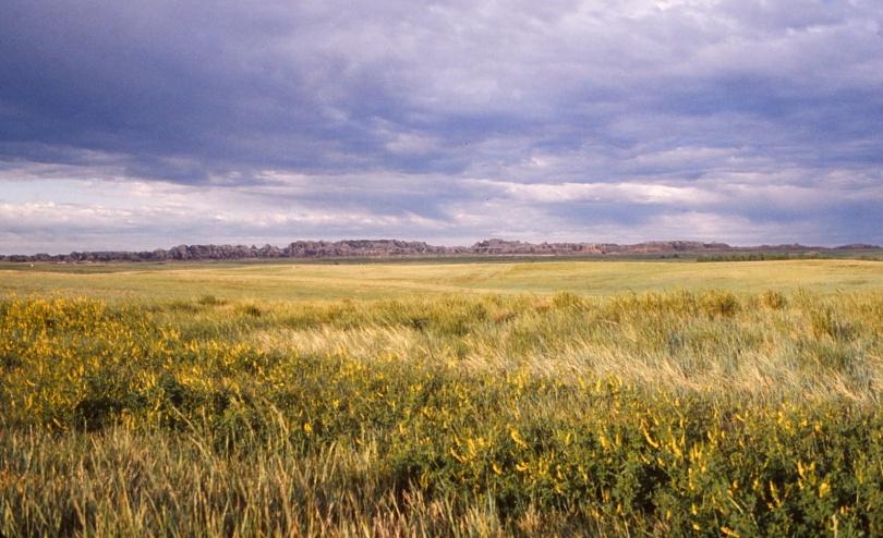 South Dakota   -   Badlands National Monument   -   June 1975
