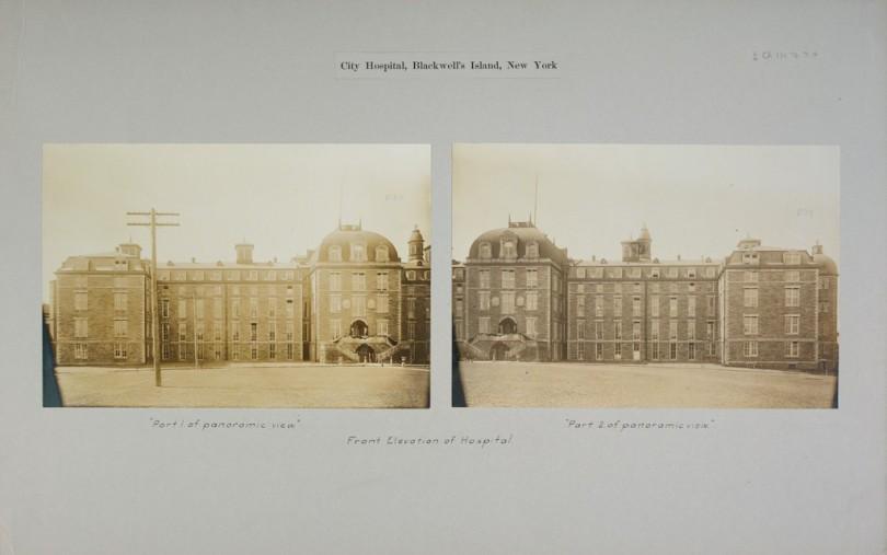 City Hospital, Blackwell's Island, New York c. 1900
